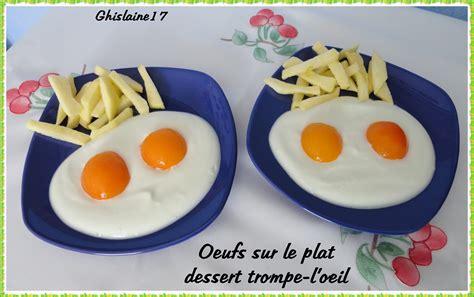 trompe l oeil cuisine oeufs sur le plat dessert trompe l 39 oeil ghislaine cuisine