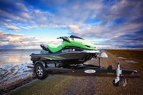 custom single jet ski trailers shadow trailers