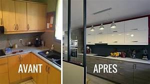 Moderniser Une Salle De Bain : avant apr s cr er une cuisine ouverte pour moderniser ~ Zukunftsfamilie.com Idées de Décoration
