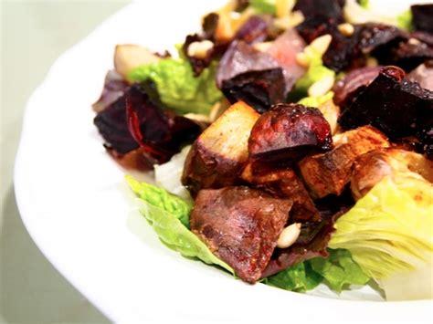 Roasted Root Vegetable Salad  Like A Vegan