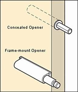 Push-Open Mechanisms - Lee Valley Tools