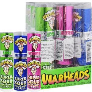 lada spray hel l 229 da godis quot warheads sour spray quot 12 x 20ml
