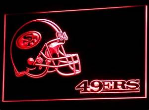 San Francisco 49ers Neon Light 49ers Neon Sign Neon
