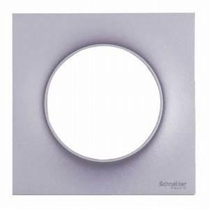 Plaque Schneider Odace : plaque schneider odace styl simple aluminium s520702e ~ Dallasstarsshop.com Idées de Décoration