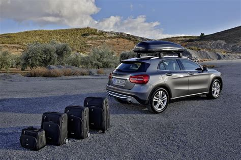 mercedes gla accessories collection revealed