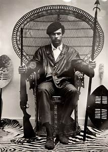 Black Panther Leader Huey Newton. 1969. I remember the ...