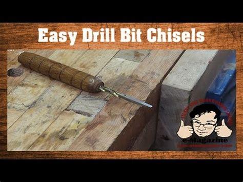 wood chisels    drill bits create