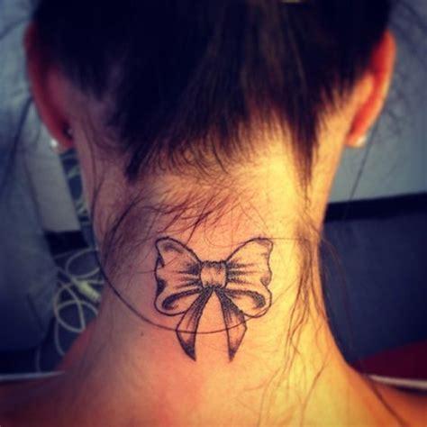 tatouage noeud femme nuque tattoos tatouage tatouage