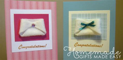 easy homemade baby gifts   ideas tutorials
