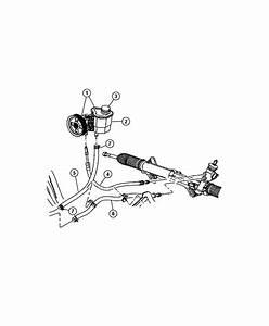 Chrysler Aspen Hose  Power Steering Return  Hosespower