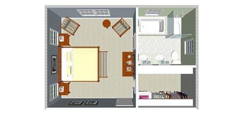 plan chambre parentale plan chambre avec salle de bain et dressing mh home