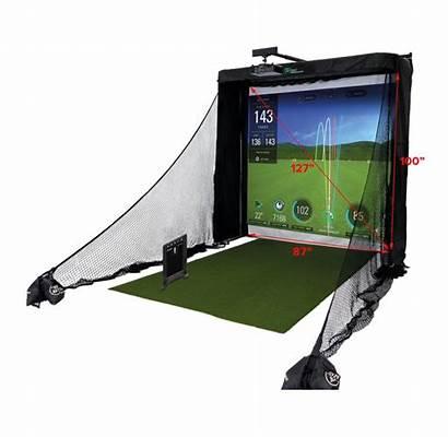 Simulator Skytrak Golf Return