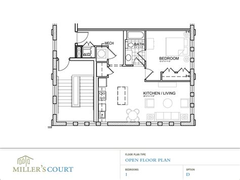 open floor plan house plans one one bedroom apartment open floor plans peenmedia com