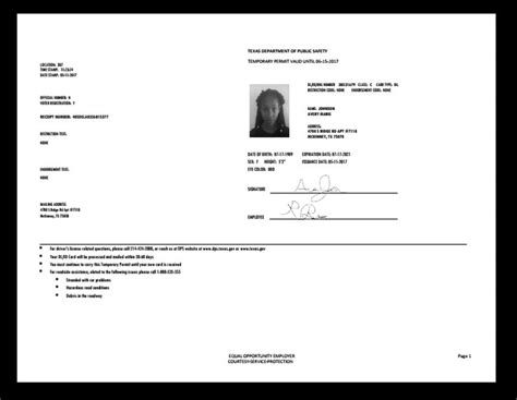 paper id template best 25 drivers permit ideas on driving drivers permit test and safe driving