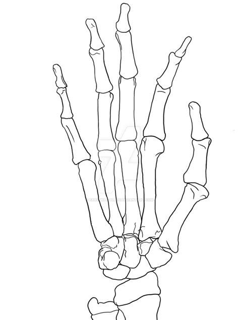 skeleton hand ears bleed deviantart
