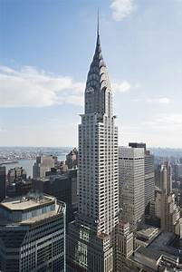 the chrysler building is an deco style skyscraper in