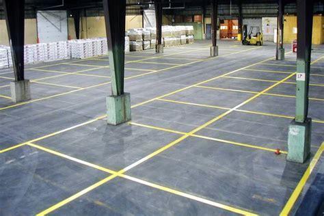 Floor Line Painting   Painters of Lines/Markings in