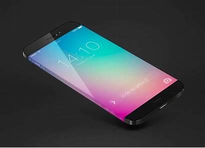 Iphone Screen Infinity Around Concept Infinite Wrap