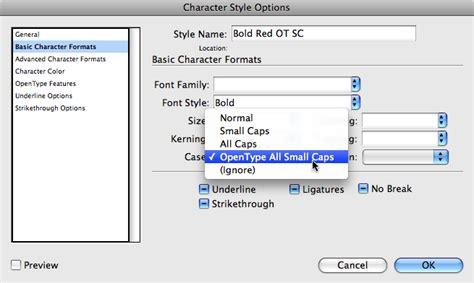 small caps vs opentype all small caps indesignsecrets