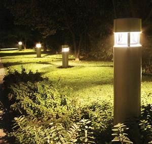 walkway lighting bollards led community and security With outdoor lighting fixtures walkways