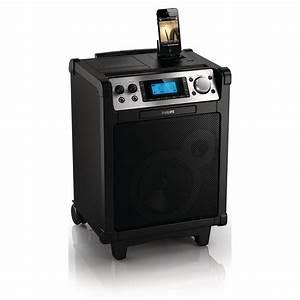 Enceinte Radio Bluetooth : philips azp6 dock enceinte bluetooth philips sur ~ Melissatoandfro.com Idées de Décoration