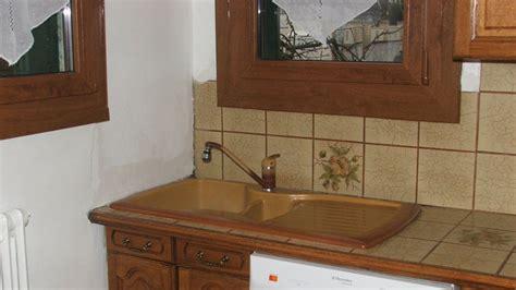 marbre de cuisine remplacer et poser un évier en inox