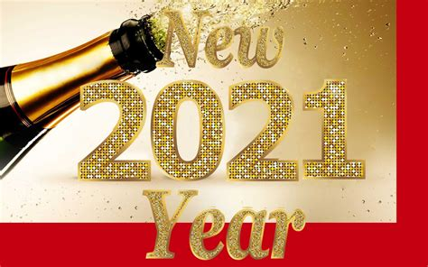 Happy New Year 2021 Sampin Bottle Photo 3d Wallpapers Hd ...