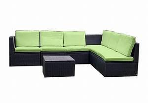 Big Sofa Grün : gartenm bel 7tlg set sitzgruppe poly rattan lounge garten garnitur couch gr n kaufen bei belan ~ Indierocktalk.com Haus und Dekorationen