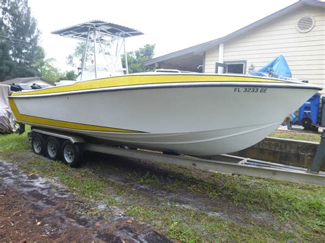 Centre Console Boats For Sale Usa by 26 Center Console Scarab Type Boat 1988 For Sale For