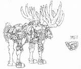 Coloring Dynamite Liger Napoleon Pages Drawing Concept Zoids Getcolorings Animal Getdrawings Designs Template sketch template