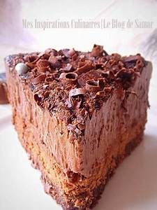 Décorer Un Gateau Au Chocolat : gateau mousse au chocolat comme un trianon le blog cuisine de samar ~ Melissatoandfro.com Idées de Décoration