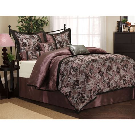 Walmart Bedding Sets by Versailles 7 Bedding Comforter Set Walmart