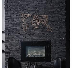 Decoration Murale Carte Du Monde : d coration murale m tal carte du monde bronze artwall and co ~ Teatrodelosmanantiales.com Idées de Décoration