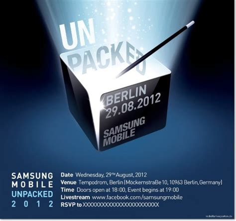 samsung unpacked teaser for august 29th event shows s pen samsung galaxy note ii phonearena