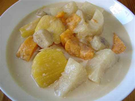 tasty indonesian food kolak