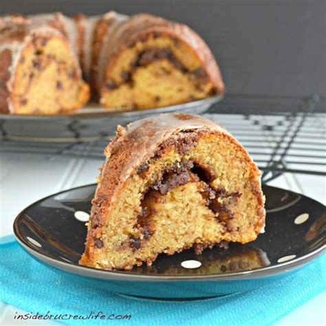 This cake is a cake that is always very well received. Sour Cream Coffee Cake - Inside BruCrew Life