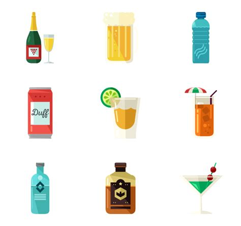 drink icon png beverage icons 1 102 free vector icons