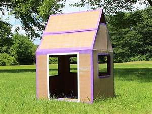 Living In The Box : how to make a weatherproof cardboard box fort diy network blog made remade diy ~ Markanthonyermac.com Haus und Dekorationen
