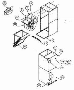 Carrier Model Fa4bnf042000aaaa Air Handler  Indoor Blower