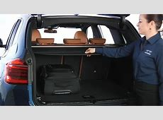 X3 Cargo Cover Removal And Storage BMW Genius HowTo