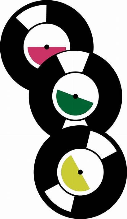 Records Clipart Record Clip 45 50s Transparent