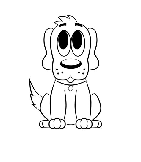 draw  cartoon dog draw central