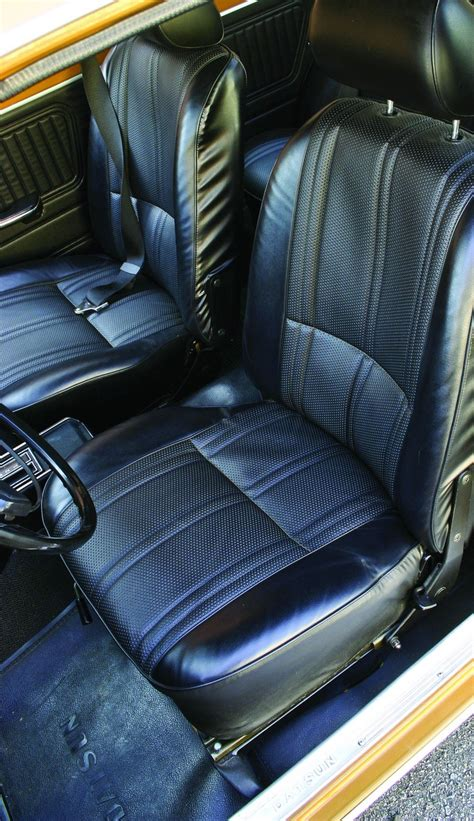 Datsun 510 Seats by Decades On The Dime 1969 1973 Datsun 510 Hemmings
