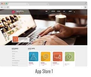 Store Theme Applay App Showcase App Store Theme By