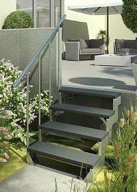 Treppe 3 Stufen Aussen : au entreppe stahl treppe aussen mit 4 stufen treppe zum garten pinterest ~ Frokenaadalensverden.com Haus und Dekorationen