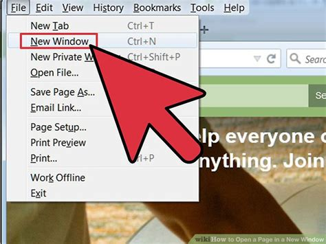 open in new window ml310305 4 ways to open a page in a new window wikihow
