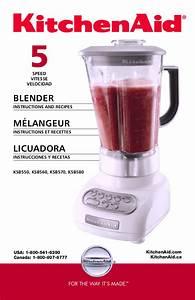 Download Free Pdf For Kitchenaid Ksb560 Blender Manual