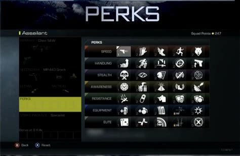 How Infinity Ward has changed the Perk System with Ghosts ...