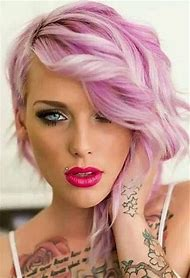 Gorgeous Pink Hair Color