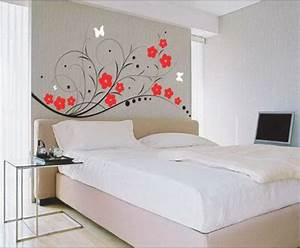 Wall paint ideas architectural design for Wall paint designs for bedroom